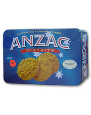 ANZAC Biscuit Tin by Unibic supporting the Royal British Legion