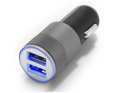 Dual USB Car Charger For iPhone - Apple