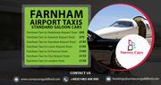 Farnham Taxi to St.Pancras